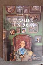 BD théodore poussin n°7 la vallée des roses EO 1993 TBE frank le gall