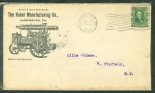 "1903, Harrisburg, PA Huber Mfg Co. ""Tractors"" advertising cover"