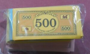 DELUXE MONOPOLY - Set of GAME MONEY or CURRENCY