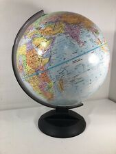 """Globemaster 12"""" Inch Diameter Rotating Globe Raised Textured Surface Replogle"""