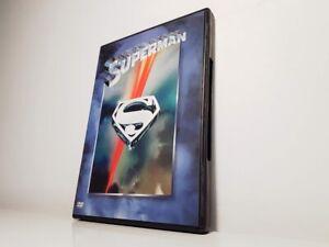 DVD SUPERMAN Christopher Reeve Marlon Brando Gene Hackman STAMPA Z8 WARNER