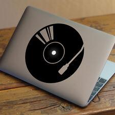 """Platinas De Dj/grabación Apple Macbook Decal Sticker encaja 11"""" 12"""" 13"""" 15"""" y 17"""" Modelos"""