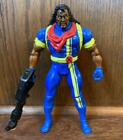 "Bishop Vintage Uncanny X-Men 10"" Deluxe Action Figure 1994 Toybiz Marvel 90s"