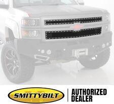 Smittybilt M1 Wire Mesh Grille 07.5-12 Chevy Silverado 1500 Truck 615821 Black
