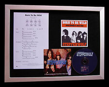 STEPPENWOLF Born To Be Wild CD TOP QUALITY MUSIC FRAMED DISPLAY+FAST GLOBAL SHIP