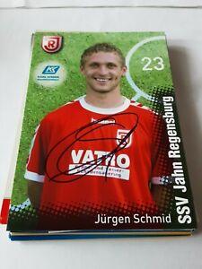 Signierte AK Jürgen Schmid Jahn Regensburg NEU