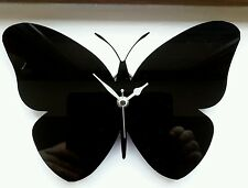 WALL MOUNTED BUTTERFLY SILHOUETTE CLOCK