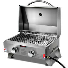 Grillz PGB-2B-SS Portable Gas Barbeque