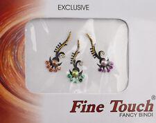 Bindi bijou de peau front bollywood multicolore dot tilak IND-R 1349