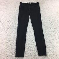 Madewell Womens Skinny Skinny Jeans Size 27 Muted Black Wash Denim (0123)
