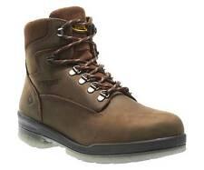 New Men's Wolverine 3226 6 inch Durashock Brown leather waterproof Work Boots