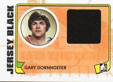 2009-10 Gary Dornhoefer ITG 1972 Year in Hockey Jersey #M - 08 PHILA FLYERS