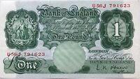 GRANDE-BRETAGNE - 1 POUND (1948) - Billet de banque // NEUF