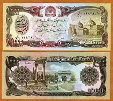 Afghanistan, 1000 Afghanis, 1979-1991, Pick 61, UNC   Taliban Banknote