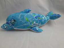 ABC GIRL SCOUT COOKIES BLUE WATER SPLASH 2012 2013 DOLPHIN PILLOW SOFT PLUSH