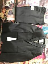 Next Dark Grey Mens Suit Nwt 28s Trousers And 36r Jacket Both Skinny Fit