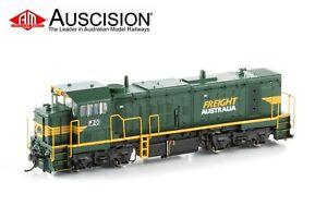 Auscision (P-12) P20 Freight Australia Green & Yellow - HO Scale DC