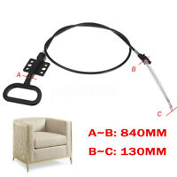 1/2X Recliner Handle Cable Replacement Sofa Couch D-Style Release Lever Cables