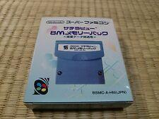SUPER FAMICOM SFC Satellaview 8M MEMORY PACK BSMC-A-HM(JPN)  unused