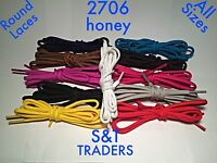 ROUND / OVAL SHOE LACES 5mm WIDE FOR SHOES /TRAINERS/  WALKING/ WORKING BOOTS
