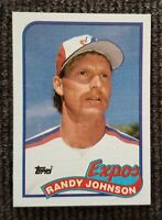 1989 Topps Hall of Famer Randy Johnson Rookie Montreal Expos #647