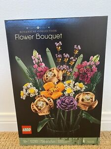 LEGO 10280 Flower Bouquet Factory Sealed FREE SHIPPING 🌹Fast shipping