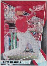 RHYS HOSKINS 2018 Panini National VIP NSCC Gold Pack Red Wave #/99 Phillies