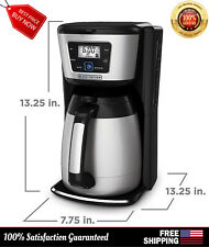 Coffee Maker 12 Cup Thermal Carafe QuickTouch Programming Coffeemaker CM2035B