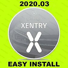 Newest Xentry 2020.03 MB Pass Thru Software Star Diagnosis for MB Temaviewer sup
