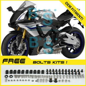 INJECTION Fairing Plastic Fit For Set Yamaha YZF-R1 2015-2017 A11