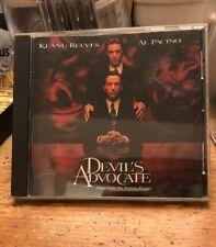 DEVIL'S ADVOCATE soundtrack CD james NEWTON HOWARD al pacino keanu reeves theron