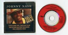 Johnny Nash 3-INCH-cd-maxi SOLID GOLD series © 1989 CBS 655169 3 UK-4-track-CD