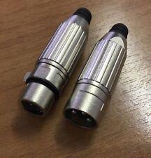 Connettore Cannon XLR 3 pin Maschio / Femmina tipo Switchcraft OFFERTA 10 pezzi!