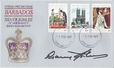 More details for 1977 barbados - hm qeii jubilee set - signed sir garfield sobers - see notes !