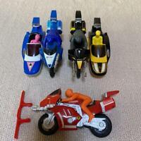Power Rangers Kyoryu Sentai Zyuranger Roadsaurer Sidesaurer Figure Set BANDAI