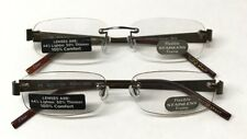 LOT OF 2 - Reading Glasses Foster Grant Steven Brown +1.50 NEW