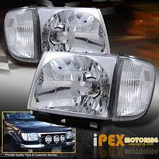 1998 1999 2000 Toyota Tacoma 4WD 4x4 Chrome Headlights + Signal Corner Lights
