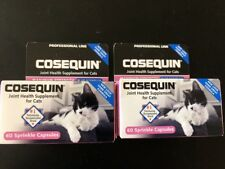 Lot of 2 COSEQUIN Joint Health Plus Boswellia CAT Supplement Packs 120 Capsules.