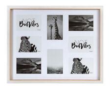 Nature Style Bilderrahmen für 8 Fotos 10x15 Galerie Bilder Foto Rahmen Collage