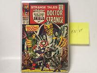 STRANGE TALES #161 Marvel Comics 1967 FN/VF  Nick Fury SHIELD/ Doctor Strange