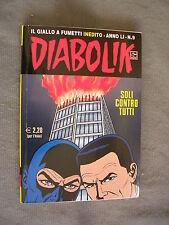 DIABOLIK ORIGINALE ANNO LI n°  9 - 2012 - RARO - OTTIMO