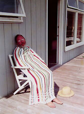 "DAVID HOCKNEY Signed 1973 Original Color Photograph ""Henry Avoiding the Sun"""
