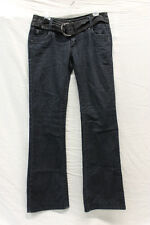 Foxy Jeans Womens Size 11 Dark Wash Excellent Used Condition Belted Attached