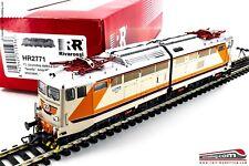 """RIVAROSSI HR2771 - H0 1:87 - Locomotiva elettrica FS E 646 157 """"NAVETTA"""" MDVC de"""