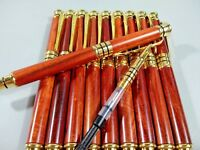 ONE Collectable Rosewood ball-point Craft pen with a fountain pen refill