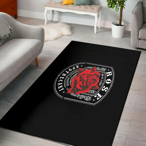 Rose Apothecary RED Rugs
