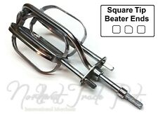 Hamilton Beach Replacement Square Tip Dual Beaters For Models B C D E F G Mixer