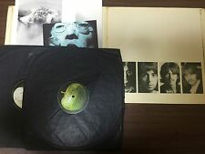 Beatles White Album 1st PMC Low Number UK  2LP Excellent Plus