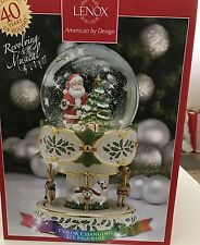 Lenox Holiday Centerpiece-Revolving & Musical