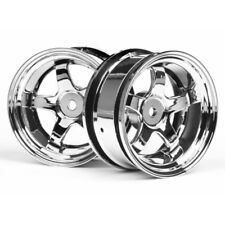 HPI 3592 Work Meister S1 Wheels 26mm Chr 6mm Offset (2)